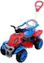 Quadriciclo infantil Spider Com Pedal e Empurrador Maral - Maral Brinquedos -