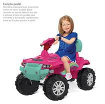 Quadriciclo Infantil Superquad - Passeio e Pedal - Rosa - Bandeirante UNICA - Bandeirante Brinq