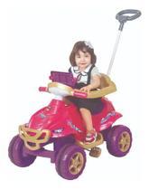 Quadriciclo Pedal C/ Som Luz Carrinho Passeio Princesas 9404 - Mga