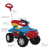 Quadriciclo Superquad Passeio e Pedal Azul - Brinquedos Bandeirante