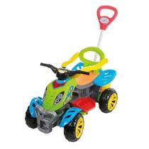 Quadriciclo Veículo De Passeio E Pedal Colorido Maral -