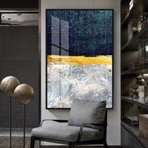 Quadro 150x100cm Abstrato Roskosh Vidro Cristal e Moldura Preta Decorativo Interiores - Oppen House -