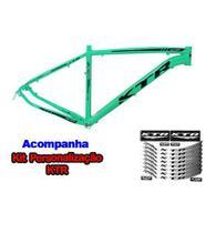 Quadro 29 Aluminio KTR Action Disco 21 Verde Anis C/ Preto -