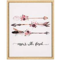 Quadro Arrows With Floral - Mart