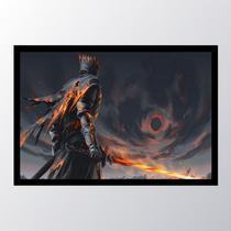 Quadro com moldura dark souls 6 - Conspecto