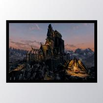 Quadro com moldura skyrim buildings - Conspecto