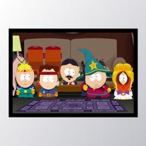 Quadro com moldura south park the stick - Conspecto