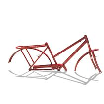 Quadro De Bicicleta Aro 26 Modelo Poti + Garfo Cores - Wendy