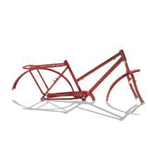 Quadro De Bicicleta Modelo Poti Aro 26 + Garfo - Vermelho - Wendy