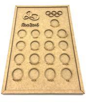 Quadro De Moedas - Olimpíadas Rio 2016 - Atelie arte coisas