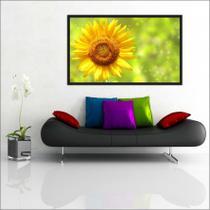 Quadro Decorativo Abtstrato Flores Decorações Salas Com Moldura TT09 - Vital