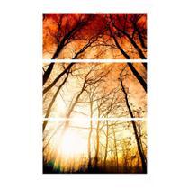Quadro Decorativo Árvore Estampado - Uniart