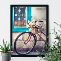 Quadro decorativo Bicicleta retrô francesa - Neyrad