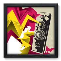 Quadro Decorativo - Caixa de Som - 33cm x 33cm - 031qdgp - Allodi