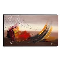 Quadro Decorativo Canvas Abstrato 60x105cm-QA-48 - Lubrano decor