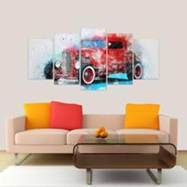 Quadro Decorativo Carro Antigo 08 Mosaico - Neyrad