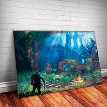 Quadro Decorativo Dark Souls 2 - Caverna Quadros