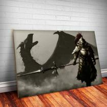 Quadro Decorativo Dark Souls 3 - Caverna Quadros