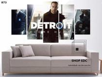 Quadro Decorativo Detroit: Become Human Game Quarto - Decorestudio