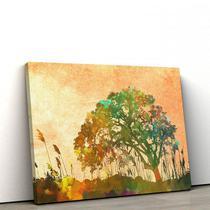Quadro Decorativo em Tecido Canvas 40x60cm rvore abstrato - Artplex