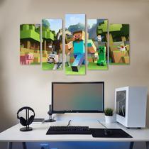 Quadro Decorativo Jogo Minecraft - Datela