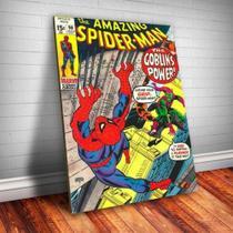 Quadro Decorativo Marvel - Espetacular Homem Aranha 3 - Caverna Quadros