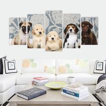 Quadro Decorativo MDF Mosaico Dog/Cachorros - Adoro Decor