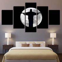 Quadro Decorativo Mosaico 5 Peças Cristo Redentor - Decorestudio