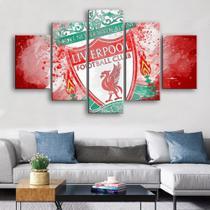 Quadro Decorativo Mosaico 5 Peças Liverpool - Decorestudio