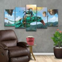 Quadro Decorativo Mosaico Avatar - Caverna Quadros