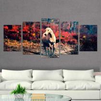 Quadro Decorativo Mosaico Cavalo 06 - Caverna Quadros