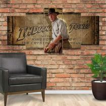 Quadro Decorativo Mosaico Indiana Jones - Caverna Quadros