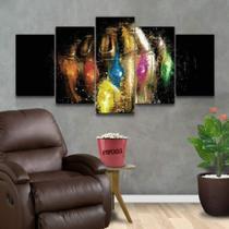 Quadro Decorativo Mosaico Manopla Do Infinito Vingadores - Caverna Quadros