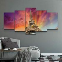 Quadro Decorativo Mosaico Paris Torre Eiffel 02 - Caverna Quadros