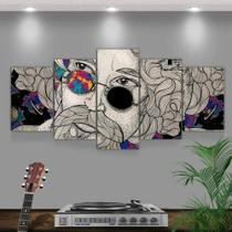 Quadro Decorativo Mosaico Raul Seixas - Caverna Quadros