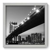 Quadro Decorativo - New York - 33cm x 33cm - 081qdmb - Allodi