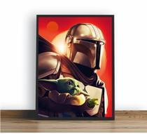 Quadro Decorativo Poste Star Wars Jedi Fallen Order Retro - Quadros A+