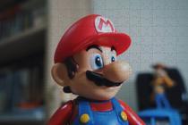 Quadro Decorativo Quebra-cabeça Super Mario 300 Peças - Reidopendrive
