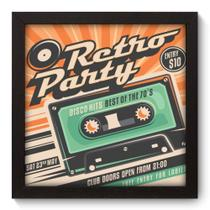Quadro Decorativo - Retro Party - 020qdvp - Allodi