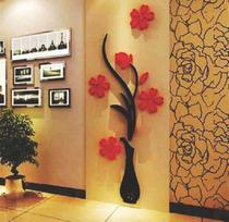 Quadro Decorativo Sala De Estar Vaso De Flores Em Mdf 6mm - Convenienza