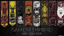 Quadro Decorativo Serie Game Of Thrones Para Sala - Quadros Decorativos