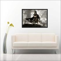Quadro Decorativo Super Heróis Batman Com Moldura - Vital Quadros