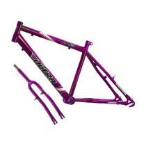 Quadro Em Aço Carbono Ultra Bike Aro 24 Com Garfo Masculina - Ultra Bikes