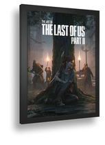 Quadro Emoldurado Poste The Last Of Us Parte 2 Ellie Gameplaycom Vidro - Quadros A+