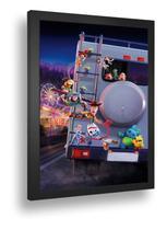 Quadro Emoldurado Poste Toy Store 4 Woody Classico Retro Com Vidro - Quadros A+