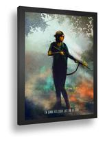 Quadro emoldurado Poster Game The Last Of Us Personagem - Quadros A+