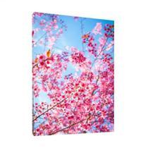 Quadro Floral Árvore De Cerejeira 95x63cm Moldura Interna - Decora Online