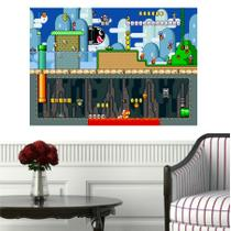 Quadro Games Super Mario Decorativo - Quadros mais