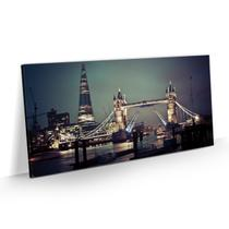 Quadro Londres Tower Bridge Decorativo Sala Quarto 100x50 - Bimper