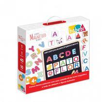 Quadro lousa Infantil Magnético Alfabeto - Babebi